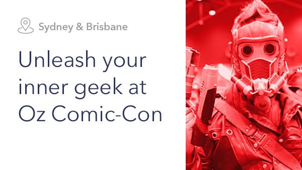 See Marvel and Star Wars at Oz Comic-Con