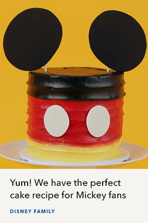 Mickey Mouse Mini Cake