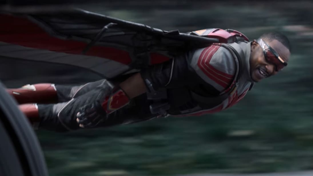 A still image from the trailer for Marvel Studios' The Falcon and the Winter Soldier