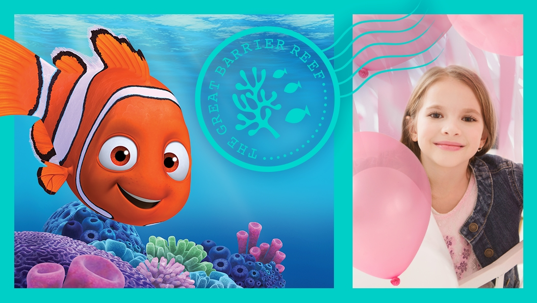 Explore the Great Barrier Reef from Finding Nemo with fun activities