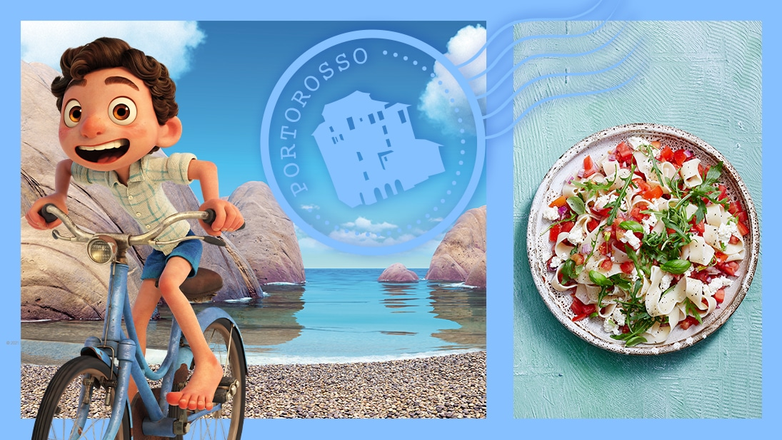 Explore the Portorosso from Disney and Pixar's Luca with these fun activities