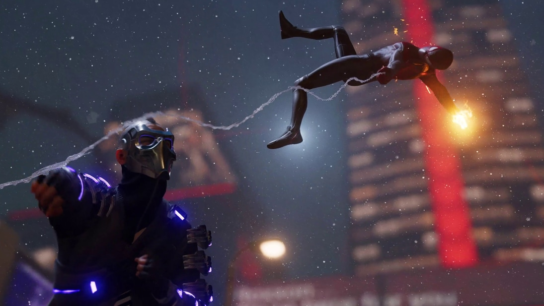 A still image from Marvel's Spider-Man: Miles Morales game.
