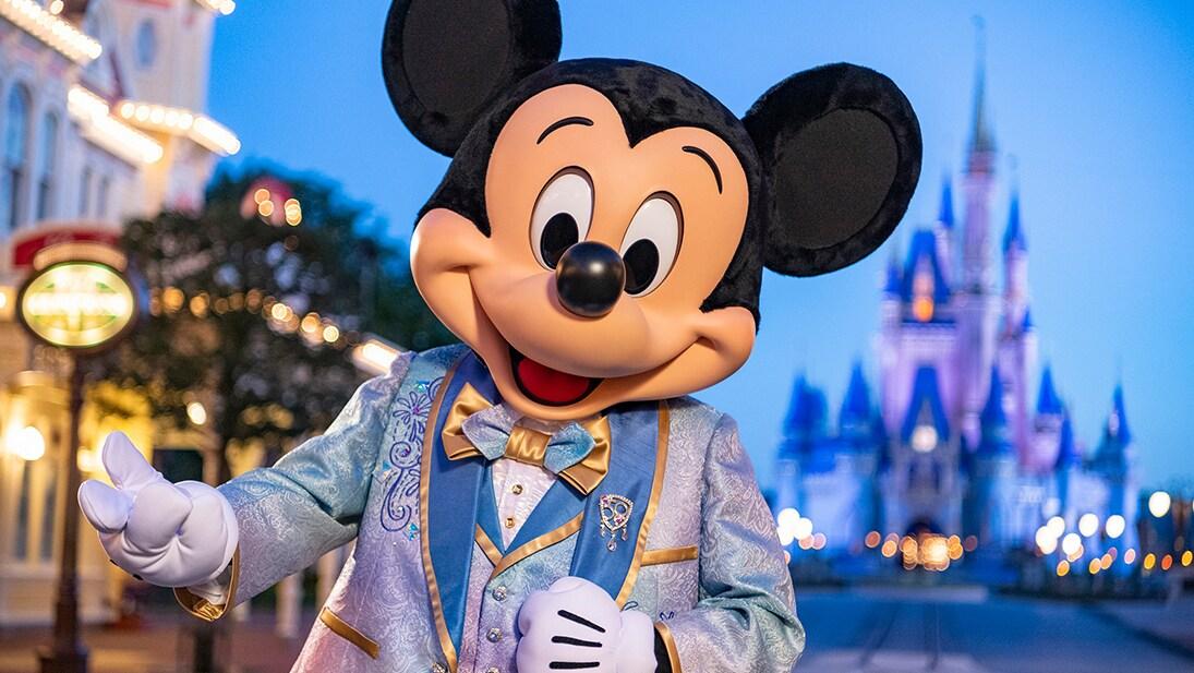 A still image from the Walt Disney World 50th Anniversary sneak peek video