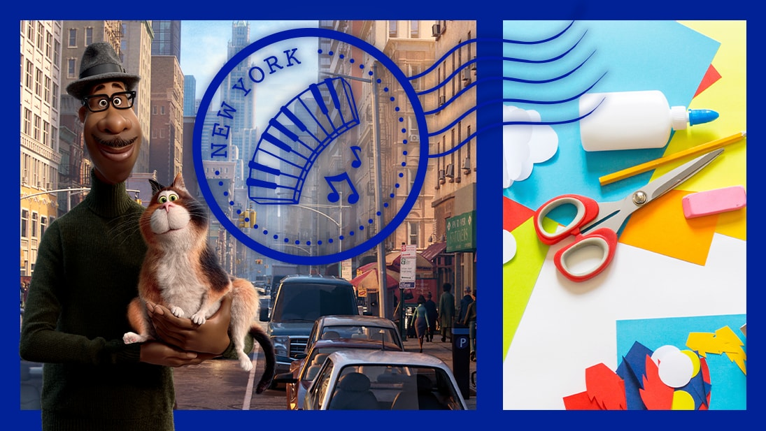 Explore New York City from Disney and Pixar's Soul with these fun activities