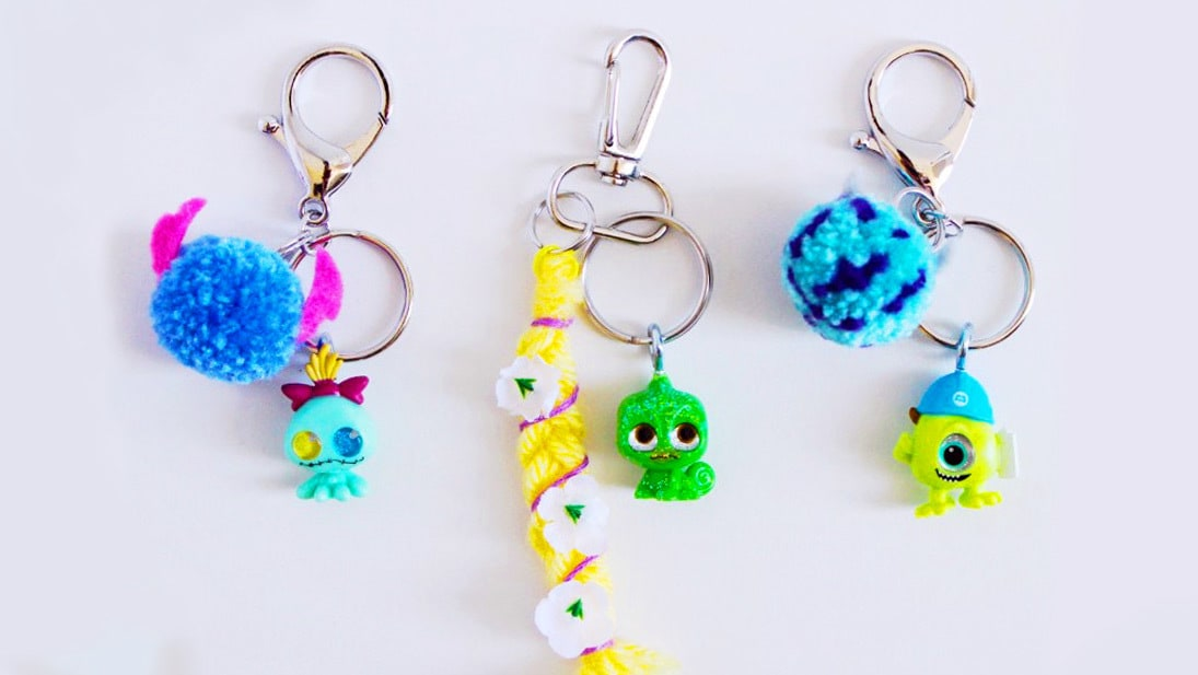 Disney Doorables Keychains | DIY
