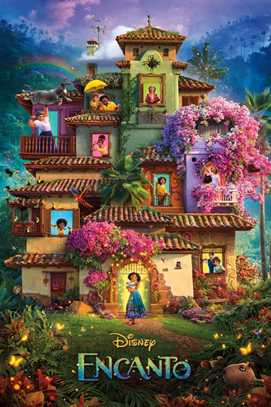 Disney's Encanto movie poster