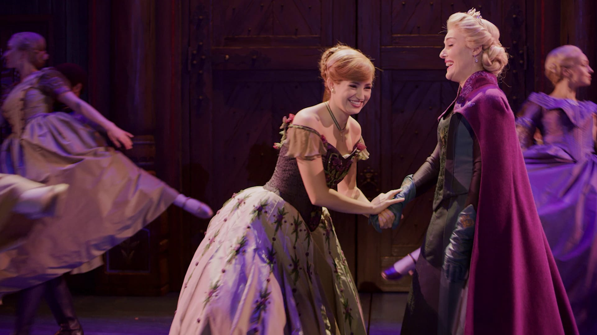 Frozen the Musical is now playing in Australia