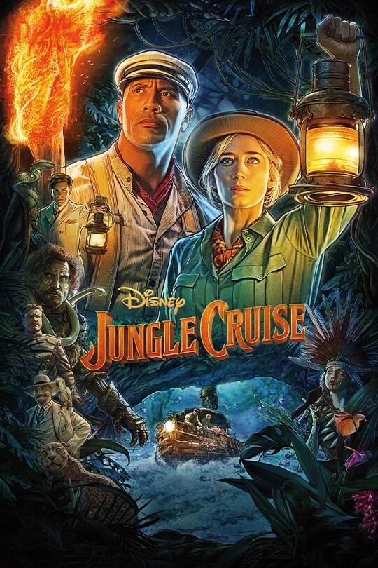 Disney's Jungle Cruise movie poster