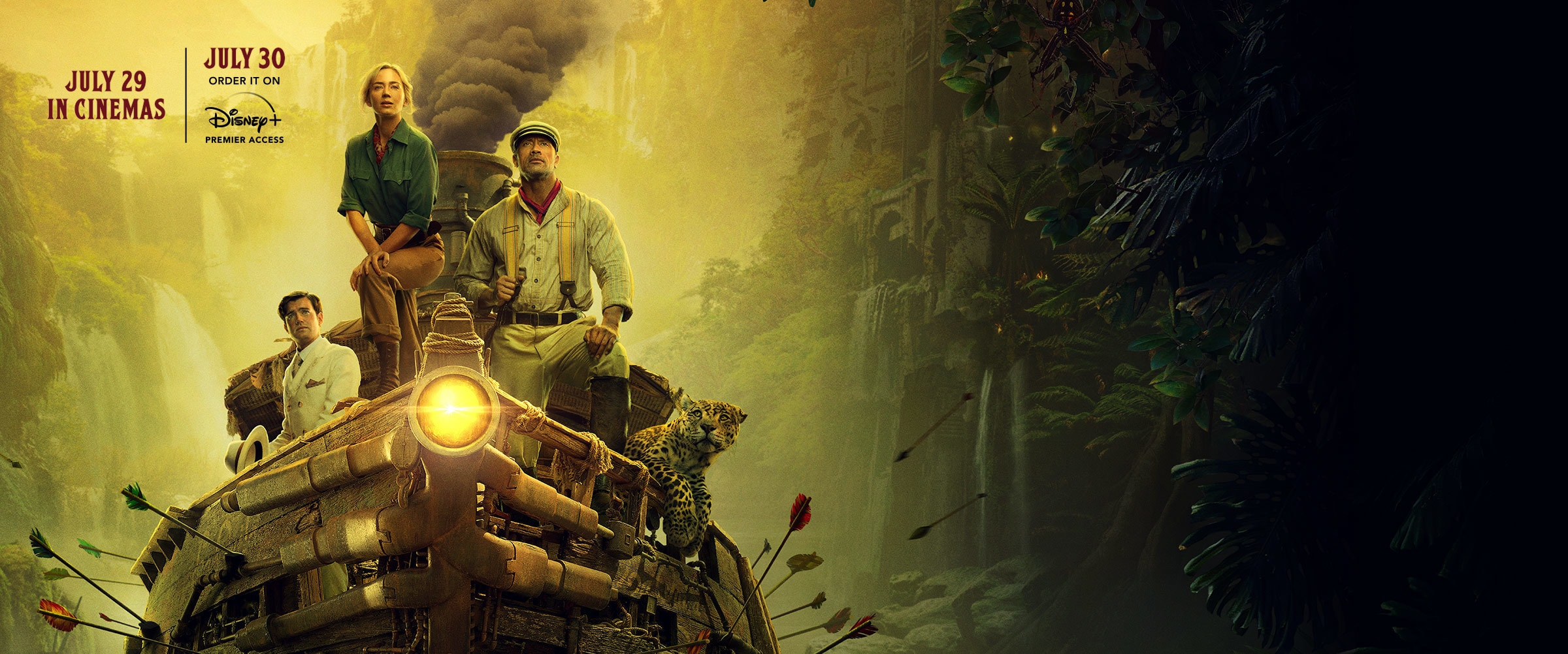 Disney's Jungle Cruise | Buy movie tickets and order on Disney+