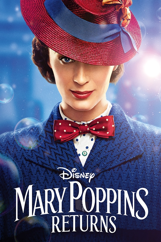Disney's Mary Poppins Returns poster