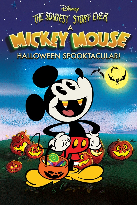The Scariest Story Ever: A Mickey Mouse Halloween Spooktacular poster