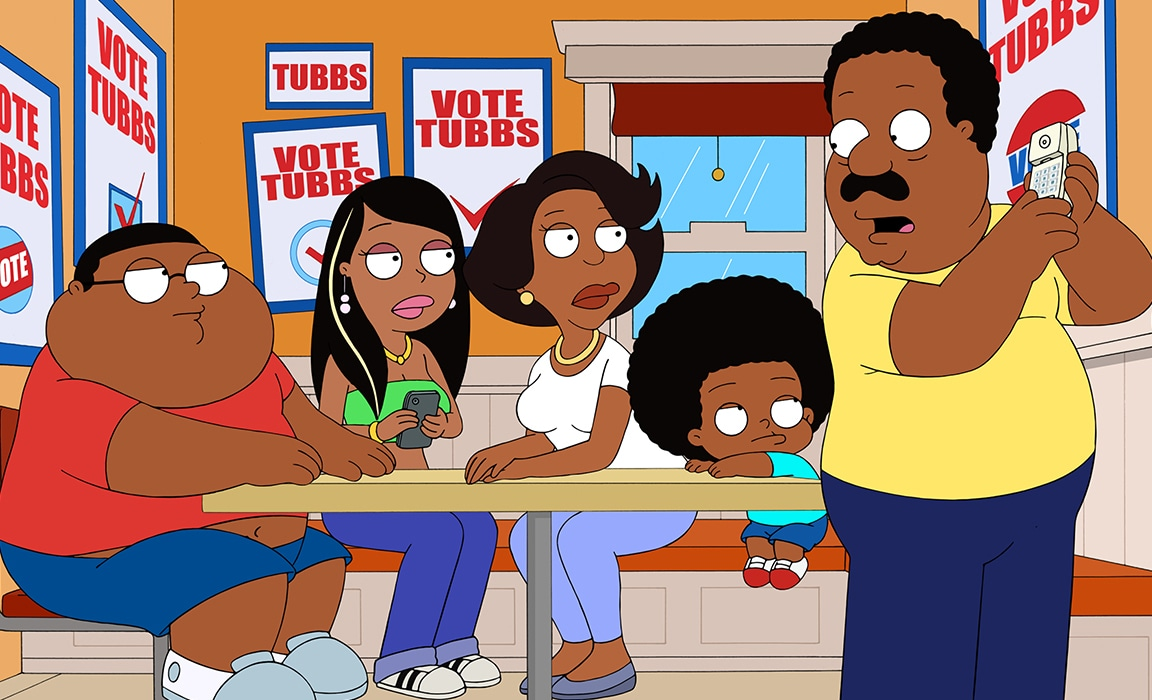 The Cleveland Show on Disney Plus