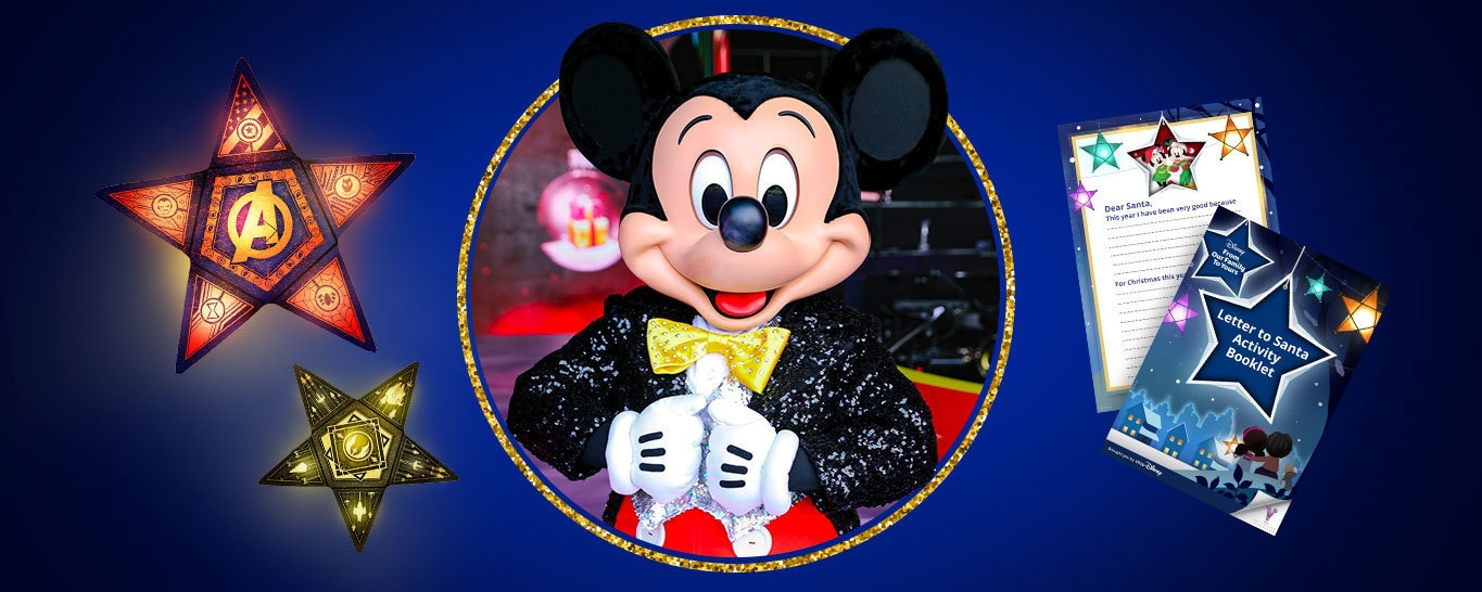 Disney Christmas craft, activities and events