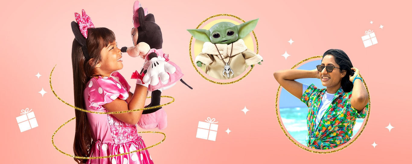 Disney's Christmas gift guide for fans of Disney, Pixar, Star Wars, Marvel and The Simpsons.