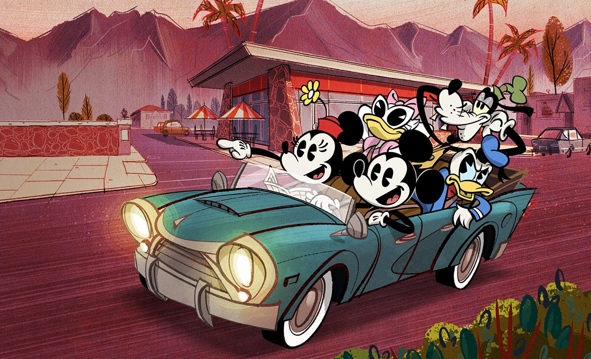 The Wonderful World of Mickey Mouse Season 1 on Disney Plus
