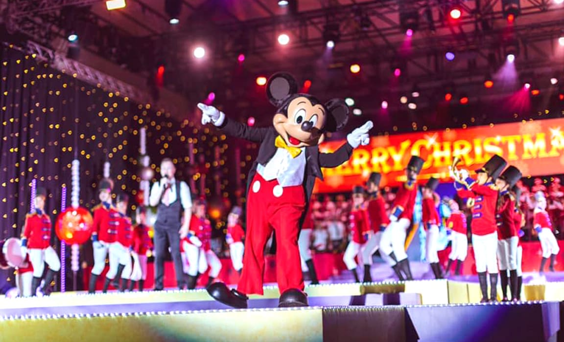 Mickey Mouse at Carols in the Domain 2018
