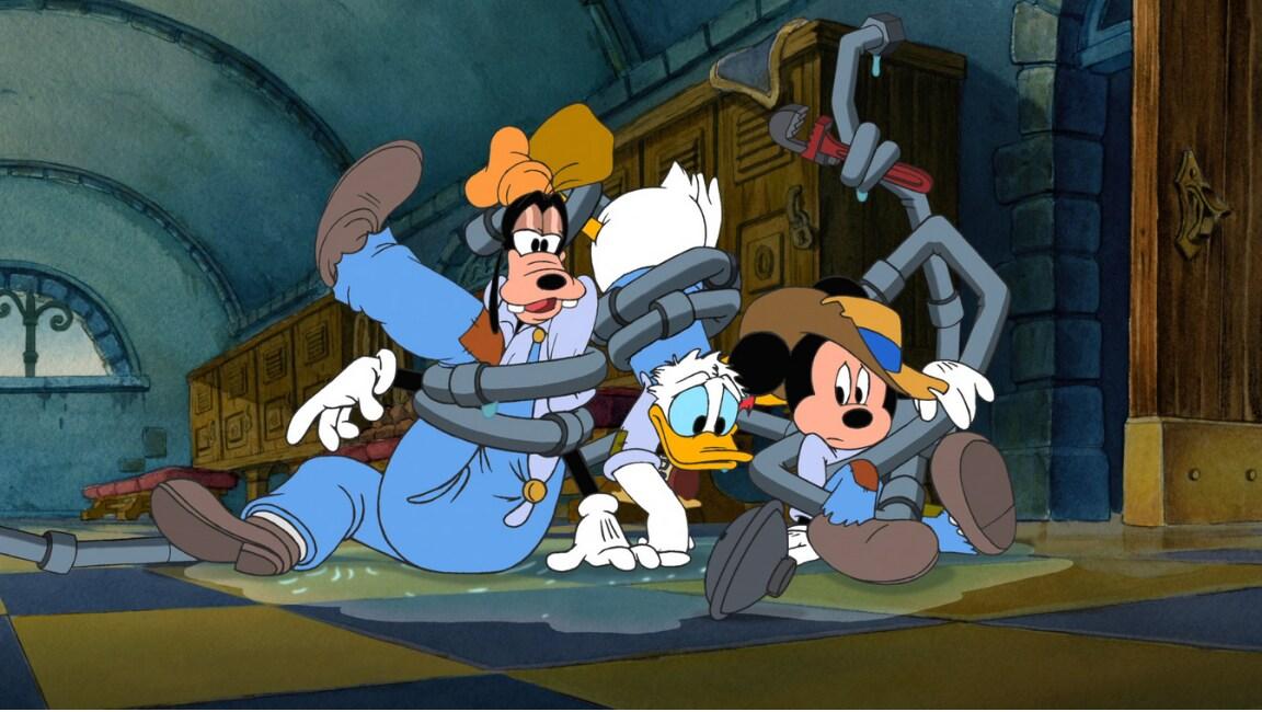 Mickey, Donald, Goofy: The Three Musketeers (2004) on Disney Plus