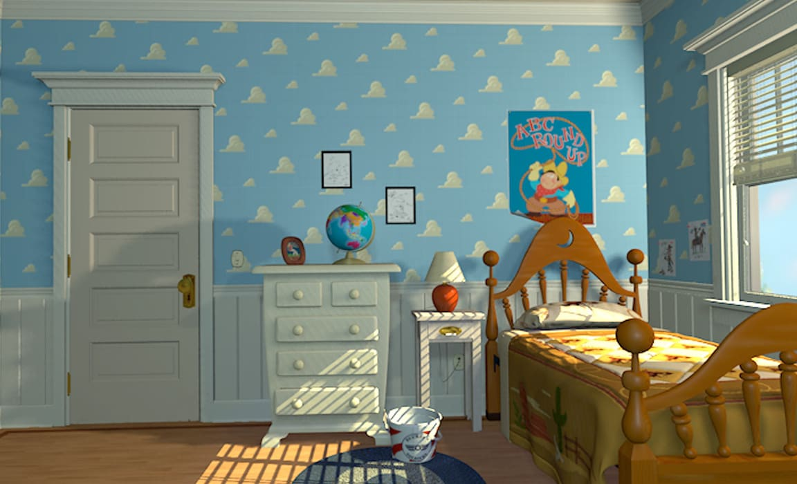 Andy's bedoom from Toy Story (1995)