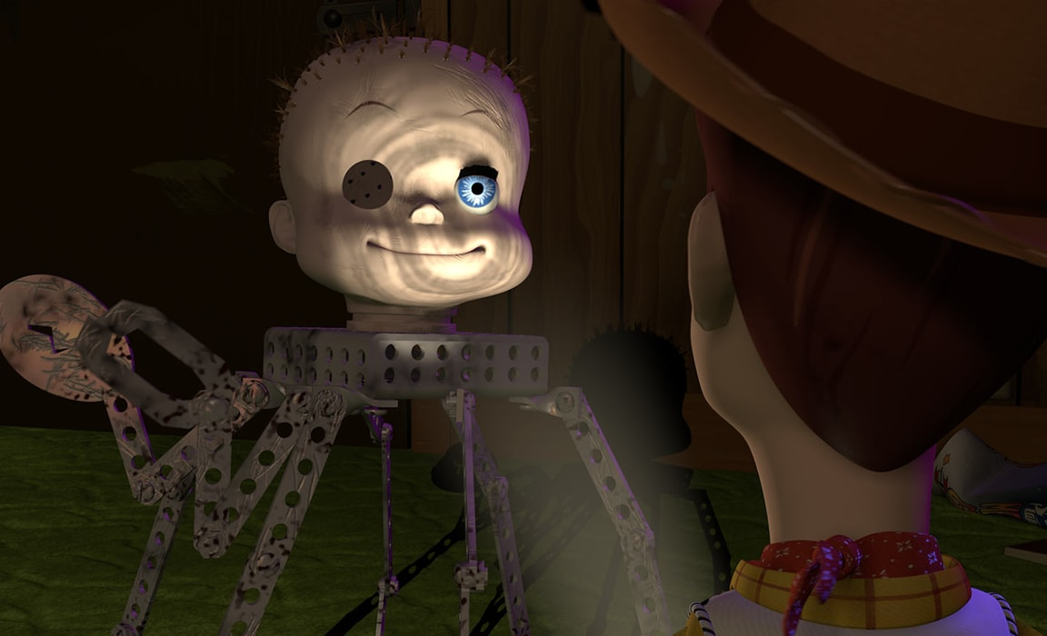 Sid's toy from Toy Story (1995)