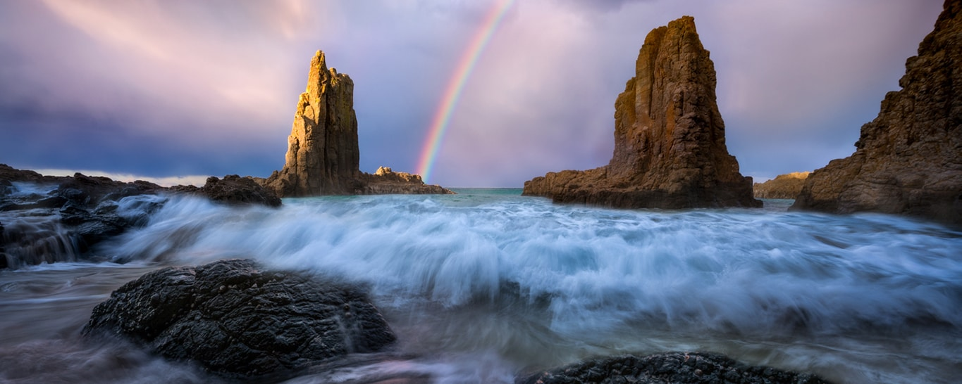 Cathedral Rocks, Kiama in Australia photo by Will Patino