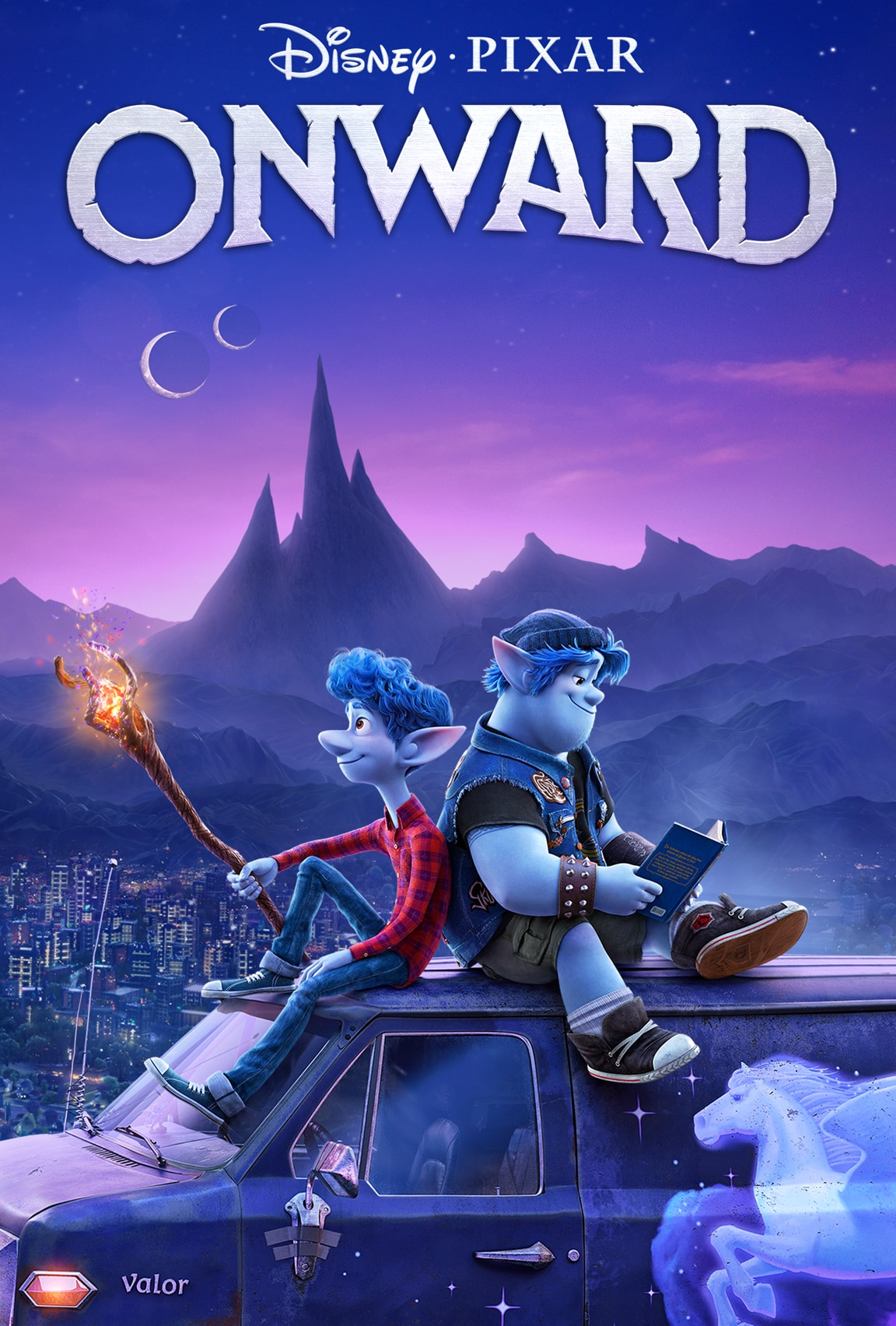 Onward streaming now only on Disney Plus
