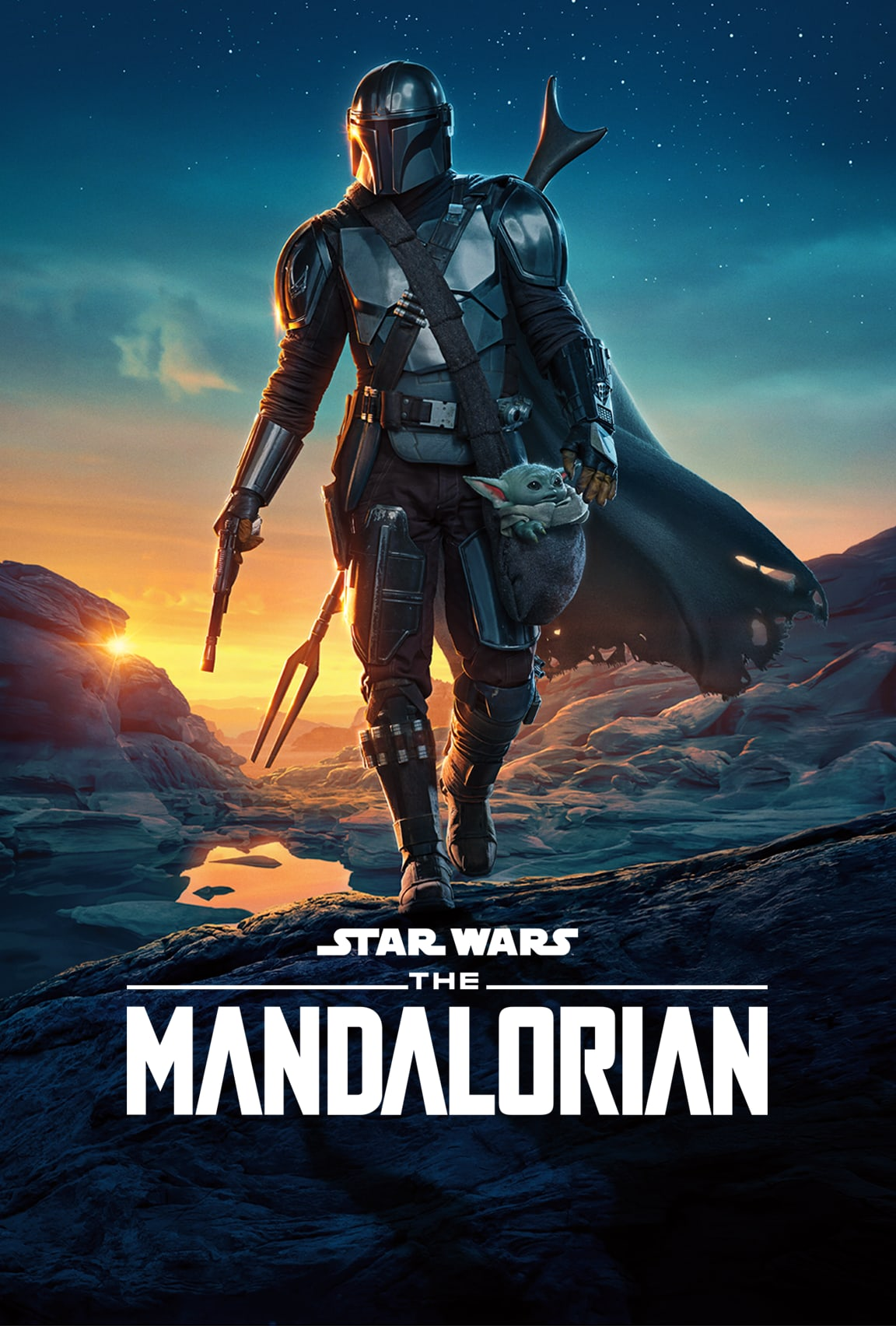 The Mandalorian Seasons 1 and 2 streaming now only on Disney Plus