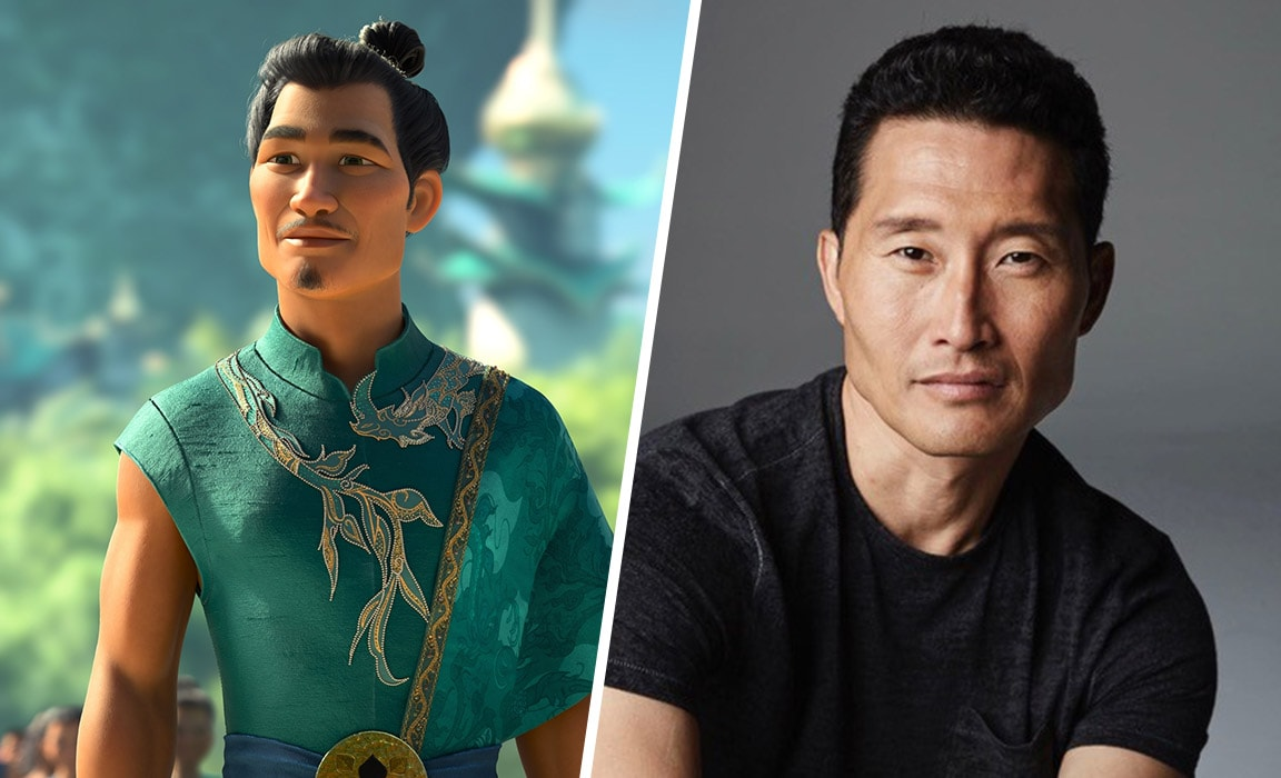 Benja voiced by actor Daniel Dae Kim in Raya and the Last Dragon