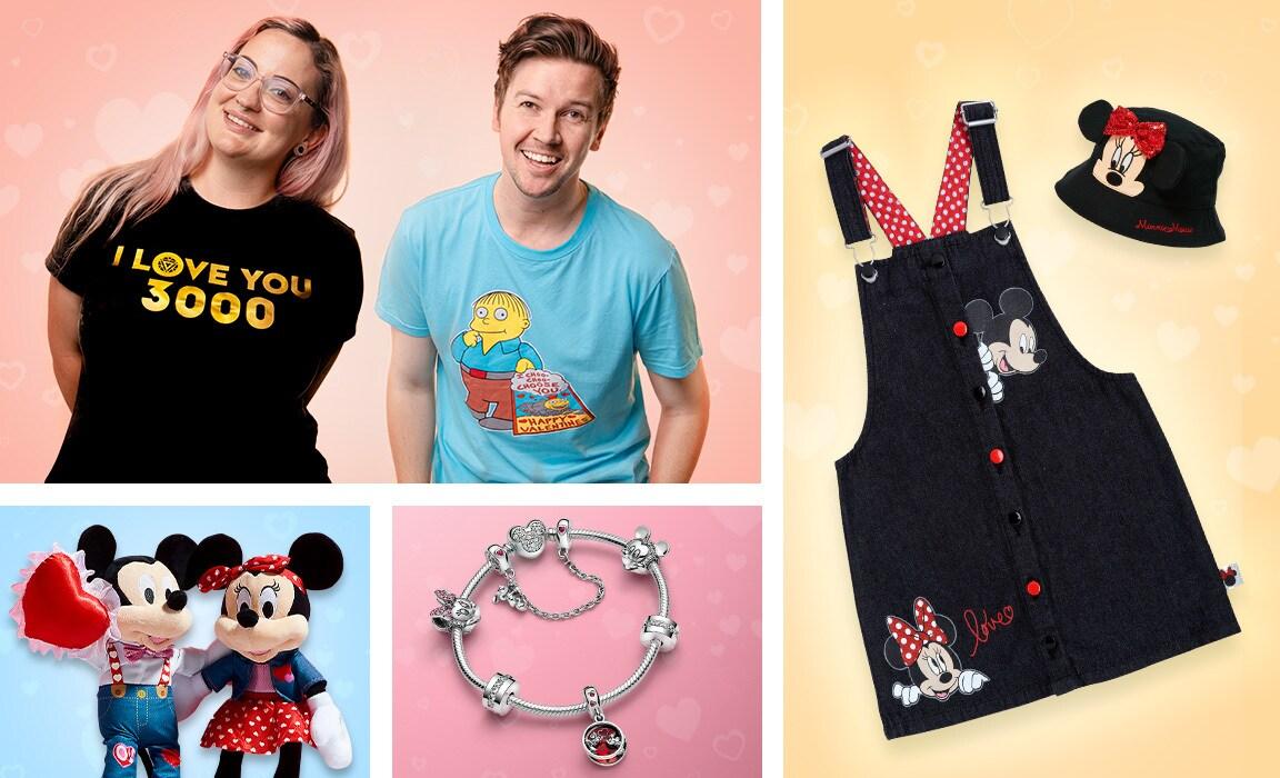 A range of Valentine's Day gifts for Disney, Pixar, Star Wars and Marvel fans