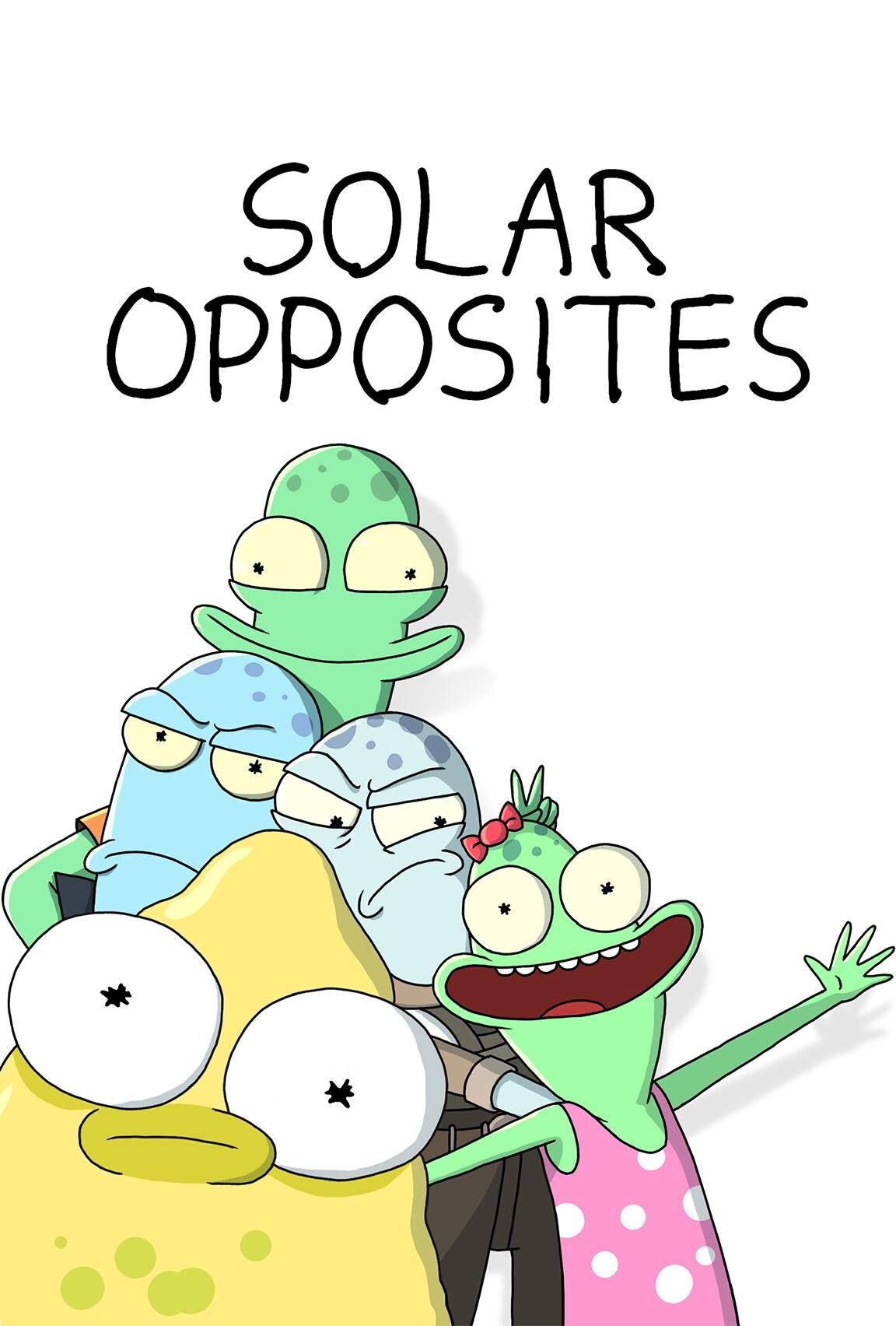 Solar Opposites on Disney Plus