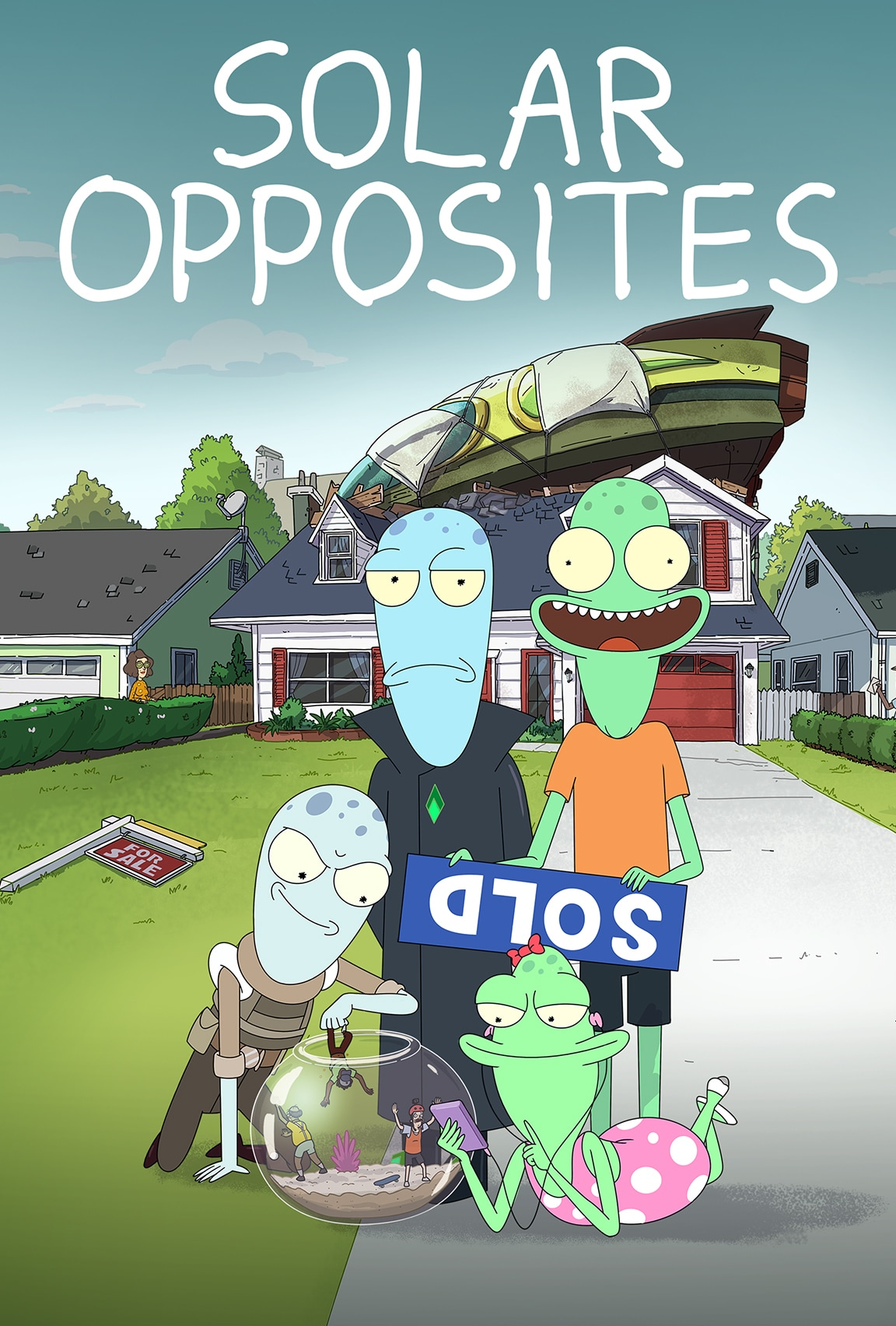 Solar Opposites, a Star on Disney+ Original Series