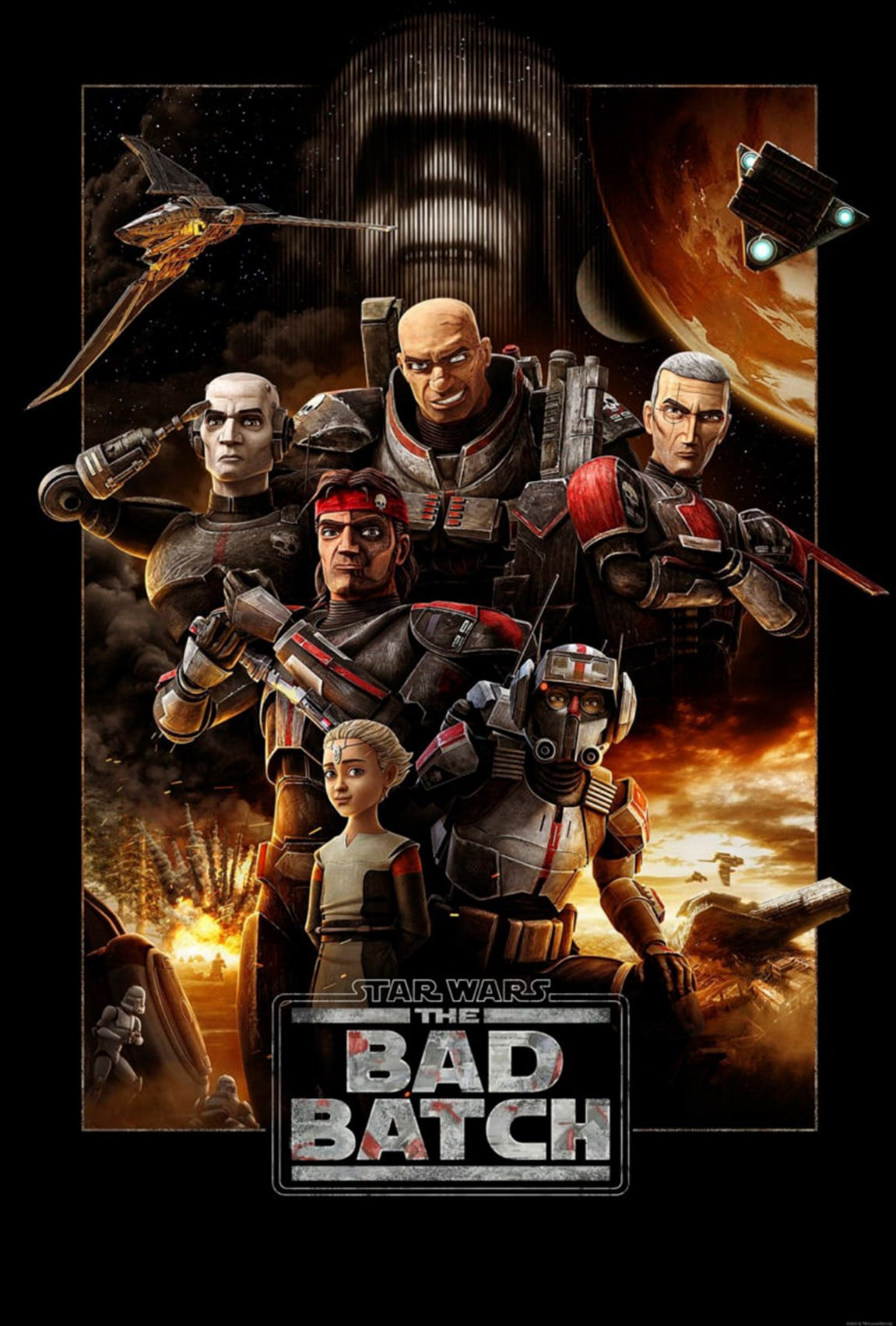Star Wars: The Bad Batch on Disney Plus