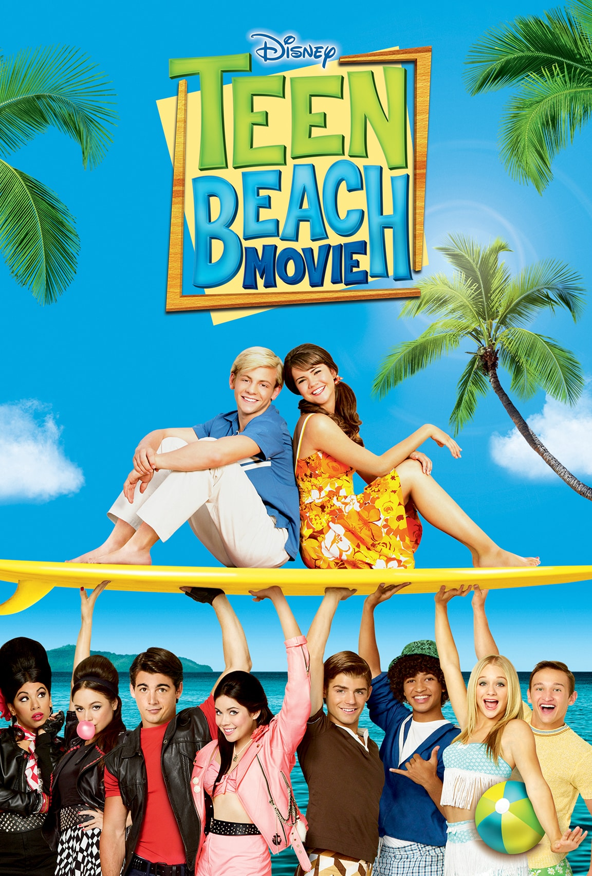 Teen Beach Movie on Disney Plus