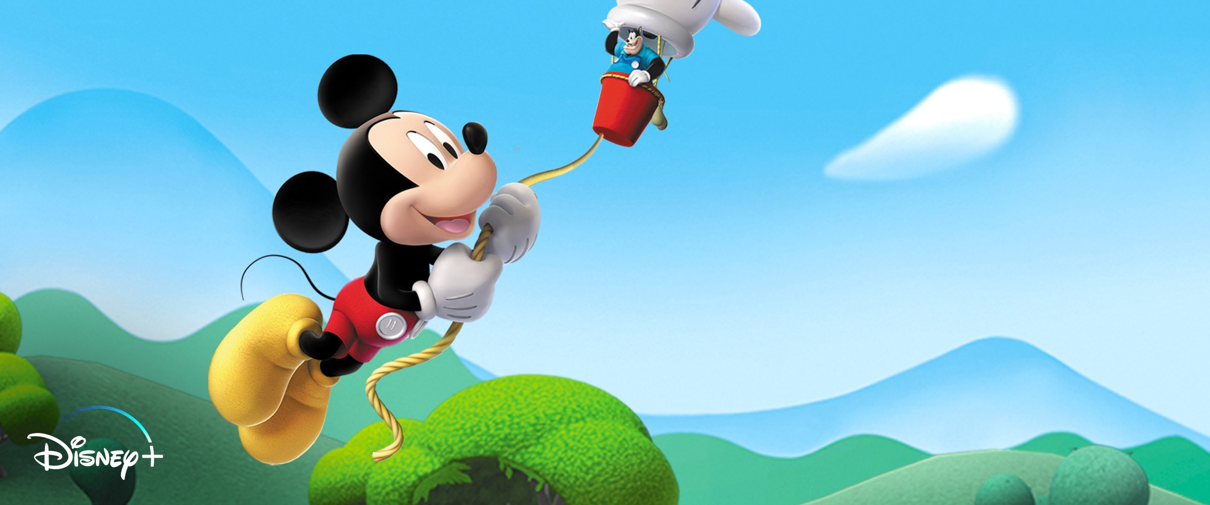 Disney Junior | Disney Plus Mickey hero banner
