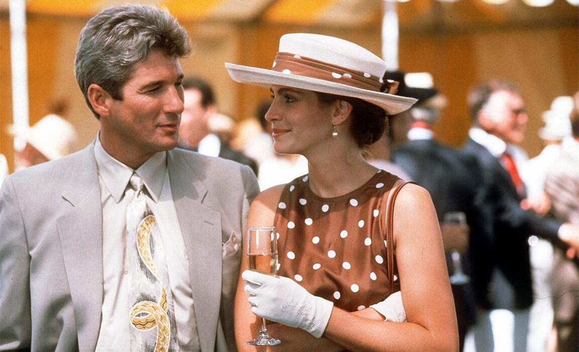 Richard Gere and Julia Roberts in Pretty Woman on Disney Plus
