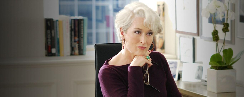 Meryl Streep in The Devil Wears Prada streaming on Disney Plus