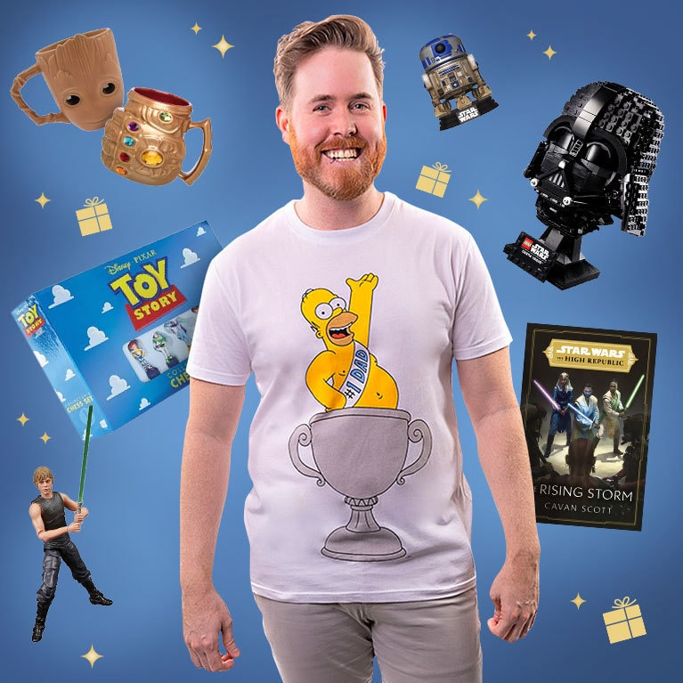 Show him you're a fan with something from our Father's Day gift guide