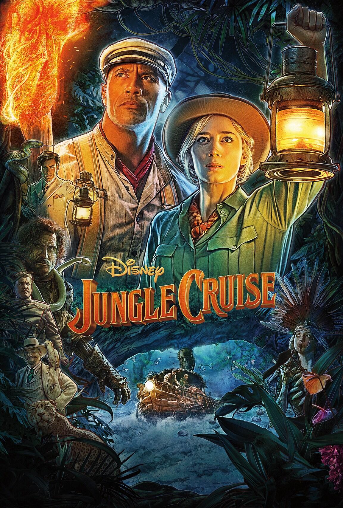 Jungle Cruise on Disney Plus