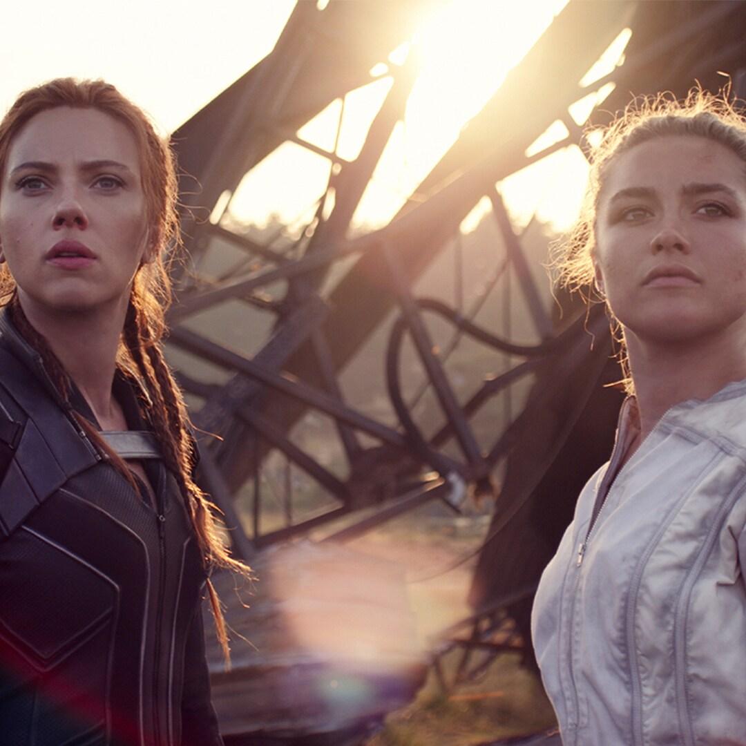 Marvel Studios' Black Widow stars Scarlett Johansson and Florence Pugh talk sisters, stunts, and more!