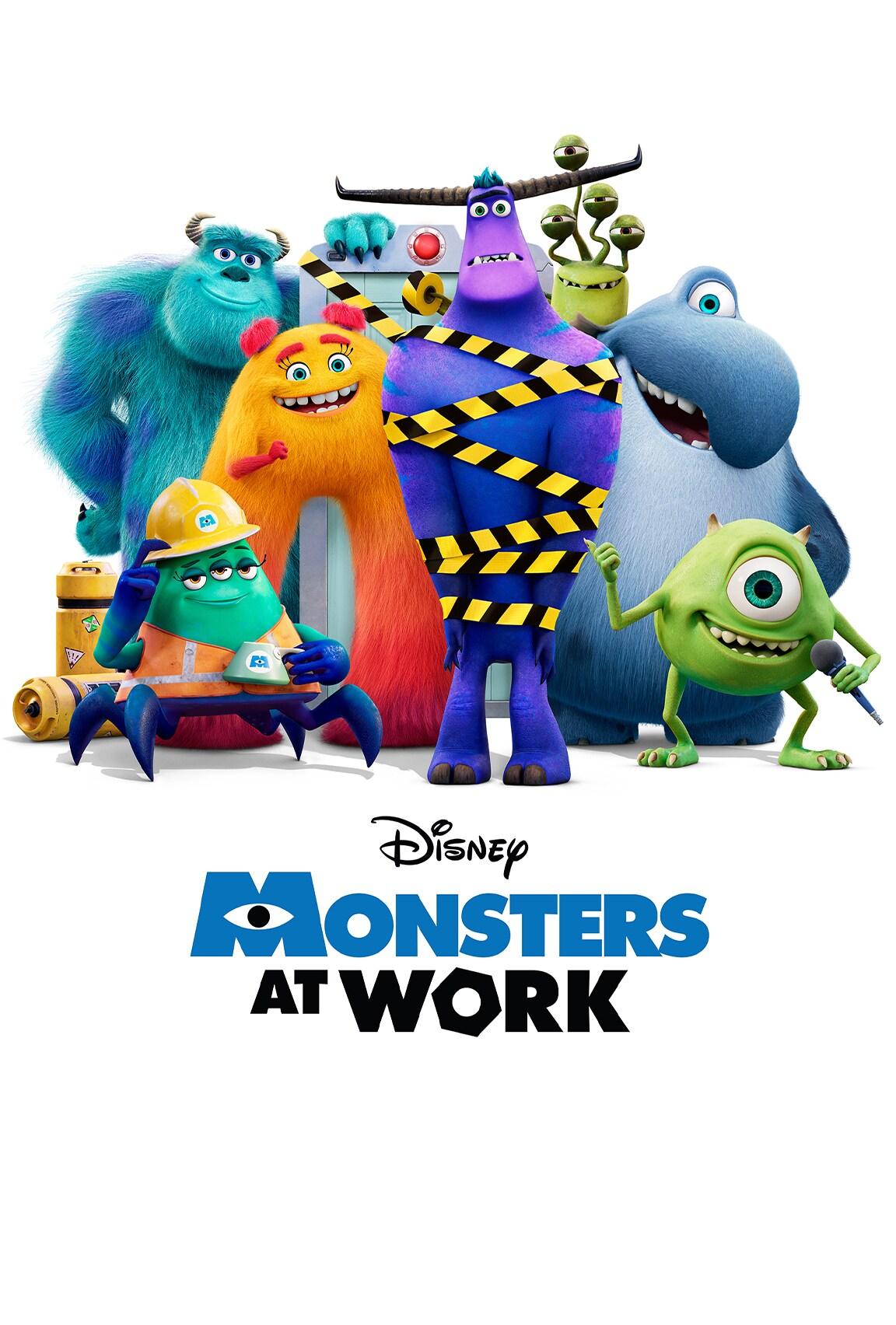 Monsters at Work on Disney Plus