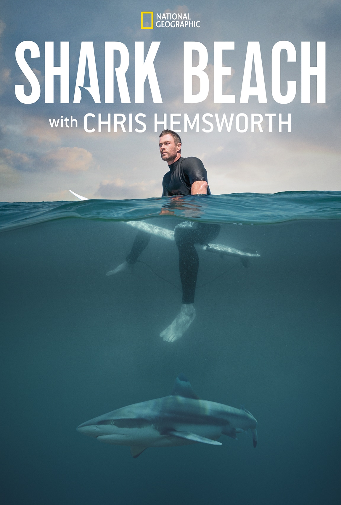 Shark Beach with Chris Hemsworth on Disney Plus