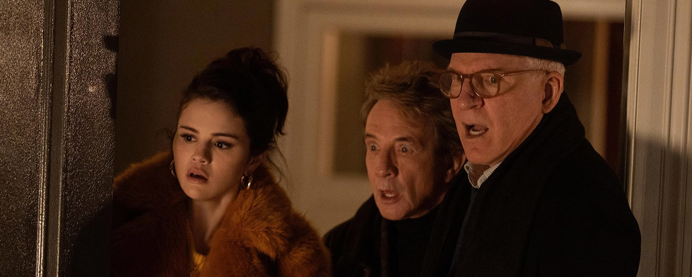 ZSelena Gomez, Martin Short and Steve Martin in Only Murders in the Building on Star on Disney Plus