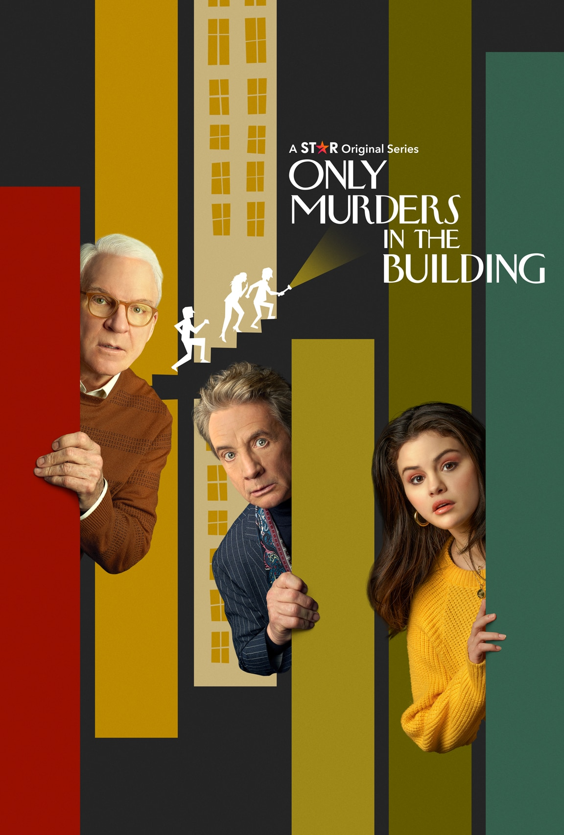 Only Murders in the Building on Star on Disney Plus