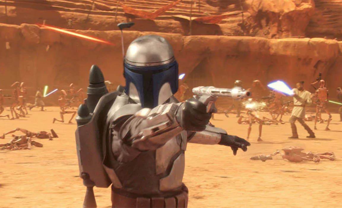 Jango Fett from Star Wars: Episode II - Attack of the Clones