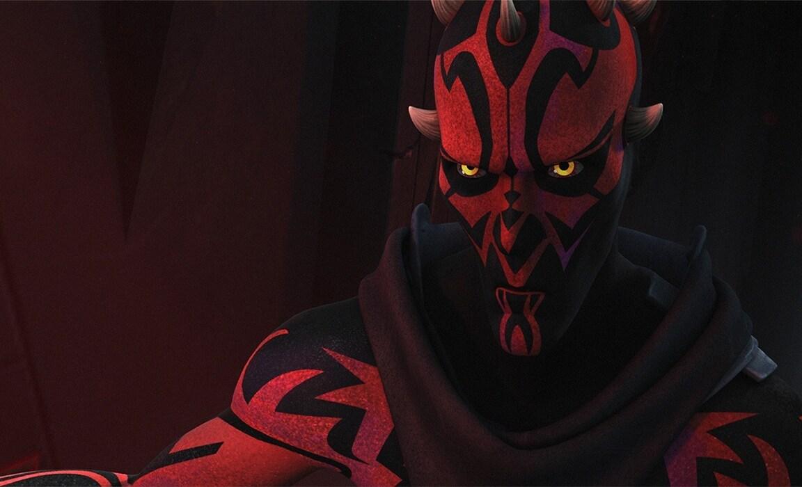 Darth Maul from Star Wars Rebels on Disney Plus