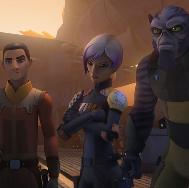 Dave Filoni talks classic and new characters in Star Wars Rebels season 3