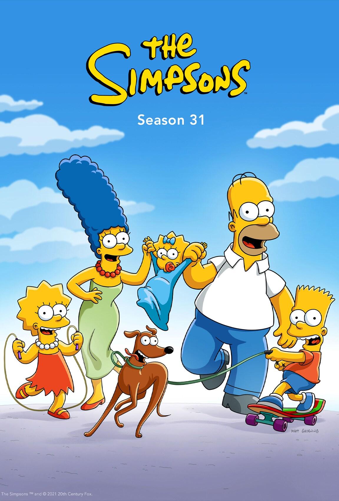 The Simpsons Season 31 on Disney Plus