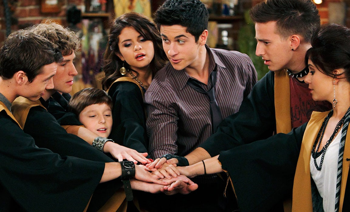 Selena Gomez in Wizards of Waverly Place on Disney Plus