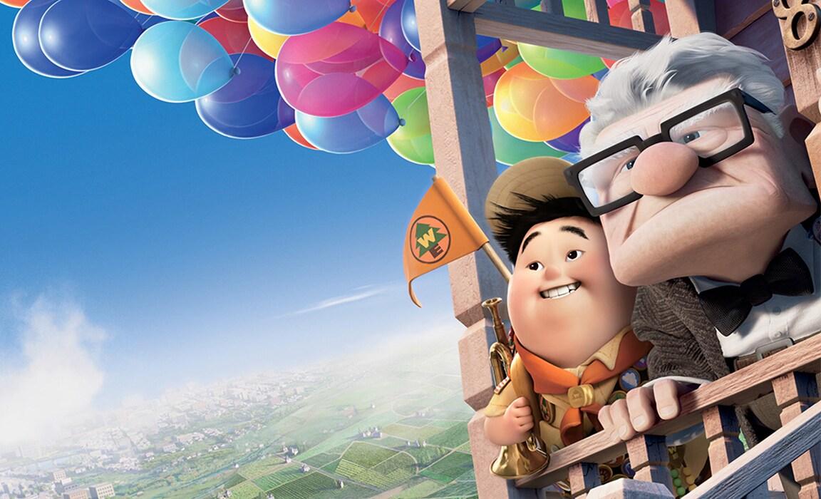 Disney and Pixar's Up on Disney Plus