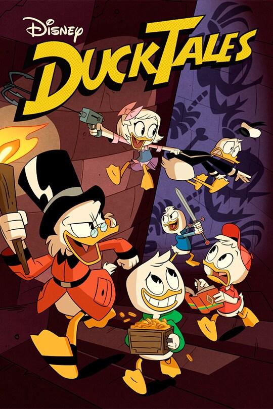 DuckTales on Disney Plus poster