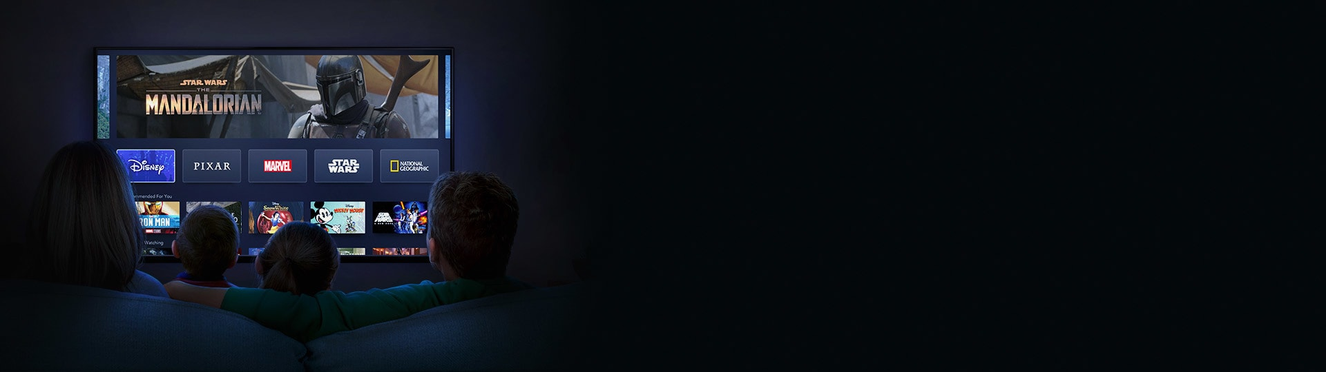 AU - ContentBanner - DisneyPlus - homepage - FamilyLineup